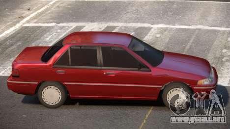 Mercury Tracer V1.2 para GTA 4
