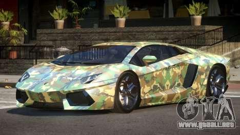 Lamborghini Aventador LP700-4 GS PJ3 para GTA 4