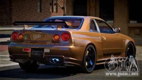 Nissan Skyline R34 SL para GTA 4