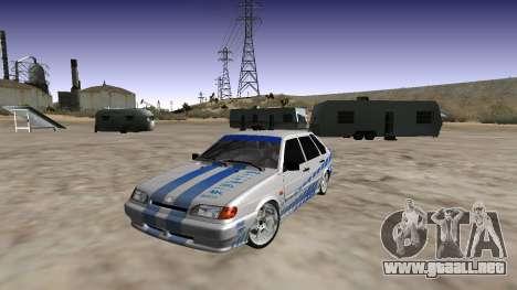 VAZ 2114 (Skyline R34 Paint Job) para GTA San Andreas