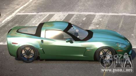 Chevrolet Corvette TQ para GTA 4