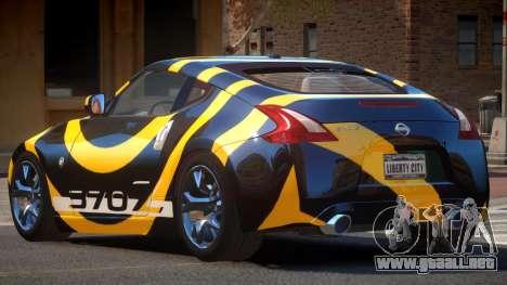 Nissan 370Z TR PJ3 para GTA 4