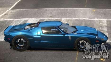 Ford GT1000 RS para GTA 4