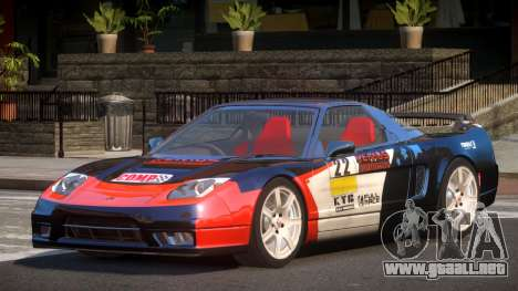 Honda NSX Racing Edition PJ1 para GTA 4