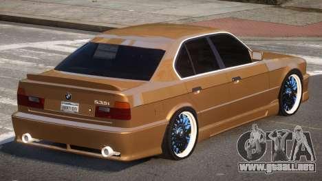 BMW M5 E34 SR para GTA 4