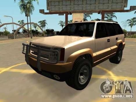 GTA IV Declasse Gran Ganadero (FIV-VEHFUNCS) para GTA San Andreas