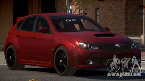 Subaru Impreza CL para GTA 4