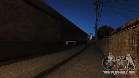 Arco de la rueda Ángeles Showroom RHA para GTA San Andreas