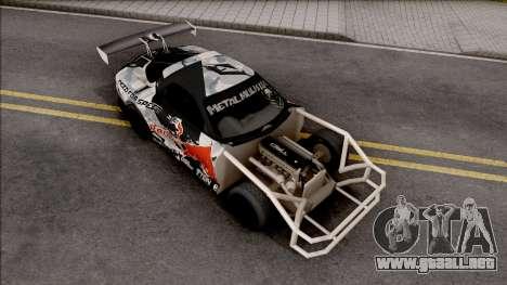 Mazda RX-7 GTR Redbull para GTA San Andreas