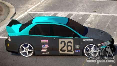 Mitsubishi Lancer G-Style PJ4 para GTA 4