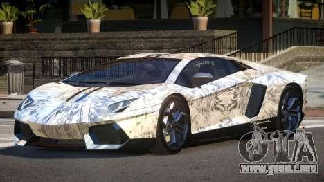 Lamborghini Aventador LP700-4 GS PJ5 para GTA 4