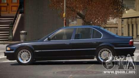 BMW 740i E38 V1.0 para GTA 4