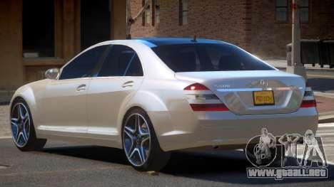 Mercedes Benz S500 LT para GTA 4