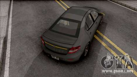Proton Persona Black Yellow para GTA San Andreas