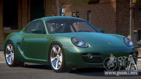 Porsche Cayman SL para GTA 4