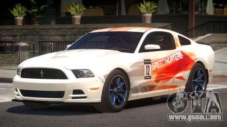 Ford Mustang 302 MS PJ6 para GTA 4