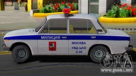 VAZ 2106 la Policía de Moscú para GTA San Andreas