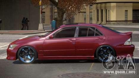 Toyota Altezza SL para GTA 4