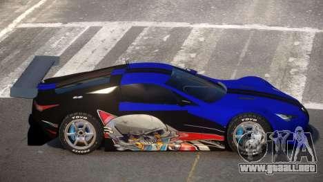 Lexus LFA R-Style PJ3 para GTA 4
