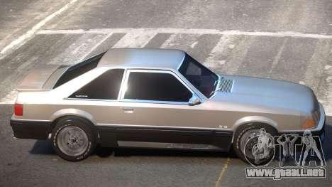 1990 Ford Mustang V1.0 para GTA 4