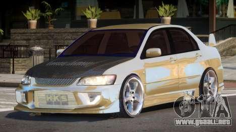 Mitsubishi Lancer G-Style para GTA 4