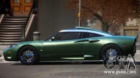 Spyker C8 TR para GTA 4