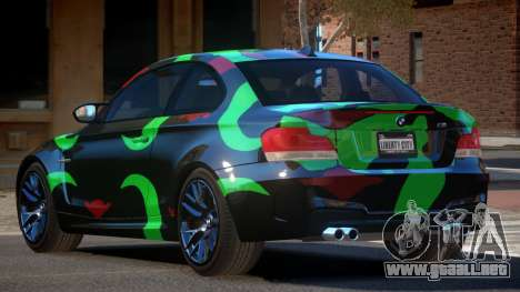 BMW 1M E82 MS PJ5 para GTA 4