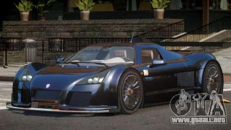Gumpert Apollo M-Sport para GTA 4