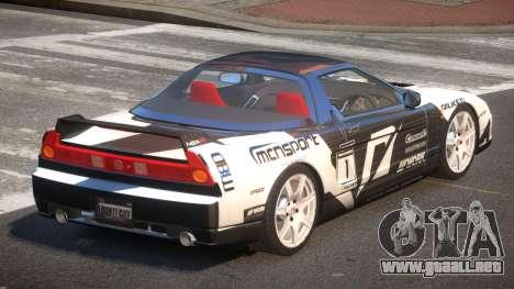 Honda NSX Racing Edition PJ6 para GTA 4