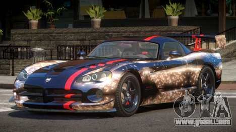 Dodge Viper SRT M-Sport PJ6 para GTA 4