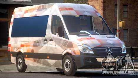 Mercedes Benz Sprinter MR PJ1 para GTA 4