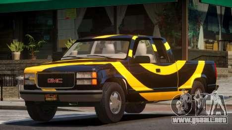1992 GMC Sierra PJ3 para GTA 4