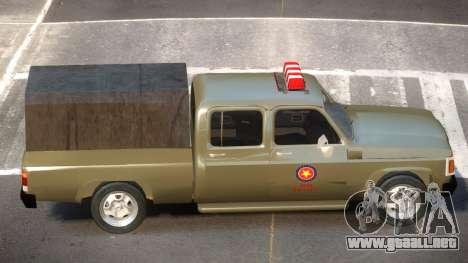 Chevrolet D20 Army para GTA 4