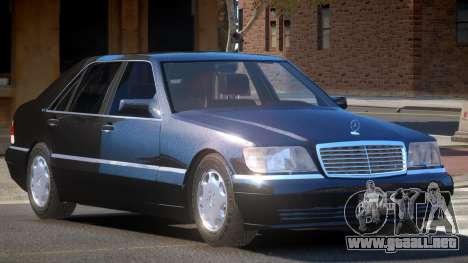 Mercedes Benz S600 V1.3 para GTA 4