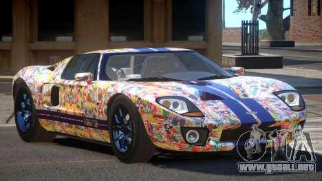 Ford GT1000 RS PJ5 para GTA 4