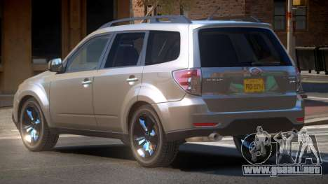Subaru Forester RP para GTA 4