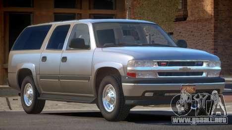 Chevrolet Suburban Spec para GTA 4