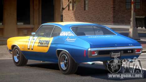 Chevrolet Chevelle 454 GT PJ1 para GTA 4