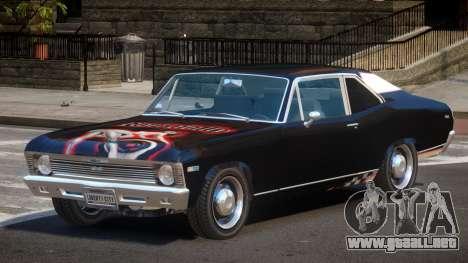Chevrolet Nova RT PJ2 para GTA 4