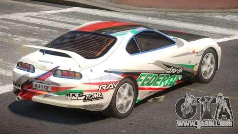 Toyota Supra G-Style PJ4 para GTA 4