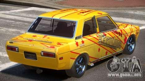 1972 Datsun Bluebird 510 PJ5 para GTA 4