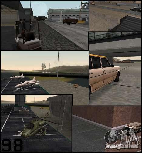 Más coches aparcados alrededor Estado de San And para GTA San Andreas