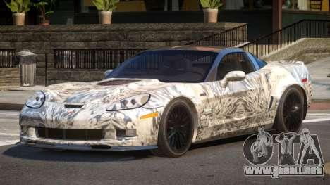 Chevrolet Corvette R-Tuned PJ4 para GTA 4