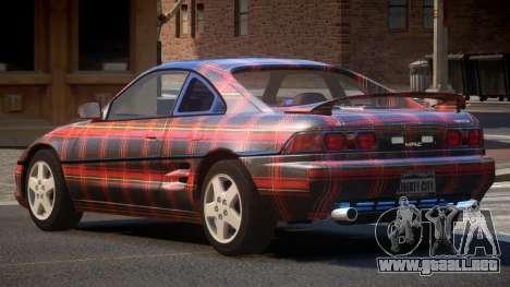 Toyota MR2 GT Sport PJ5 para GTA 4