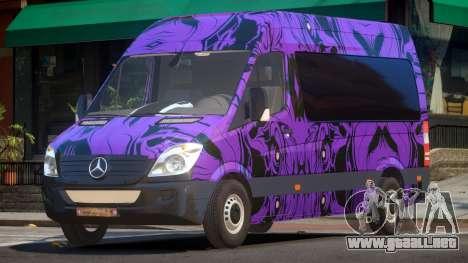 Mercedes Benz Sprinter MR PJ5 para GTA 4
