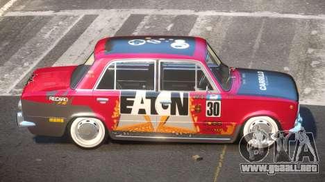 VAZ 2101 BR PJ1 para GTA 4
