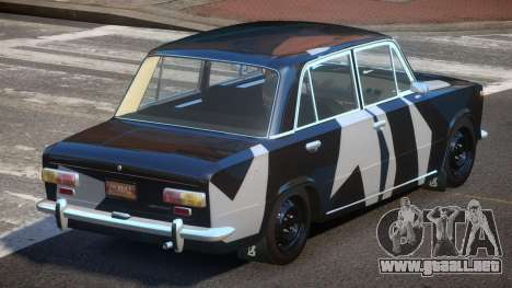 VAZ 2101 BS PJ2 para GTA 4