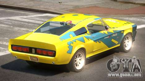 Shelby GT500 R-Tuning PJ4 para GTA 4