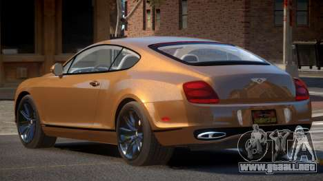Bentley Continental MS para GTA 4