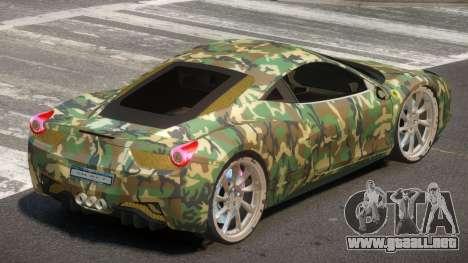 Ferrari 458 R-Tuned PJ1 para GTA 4
